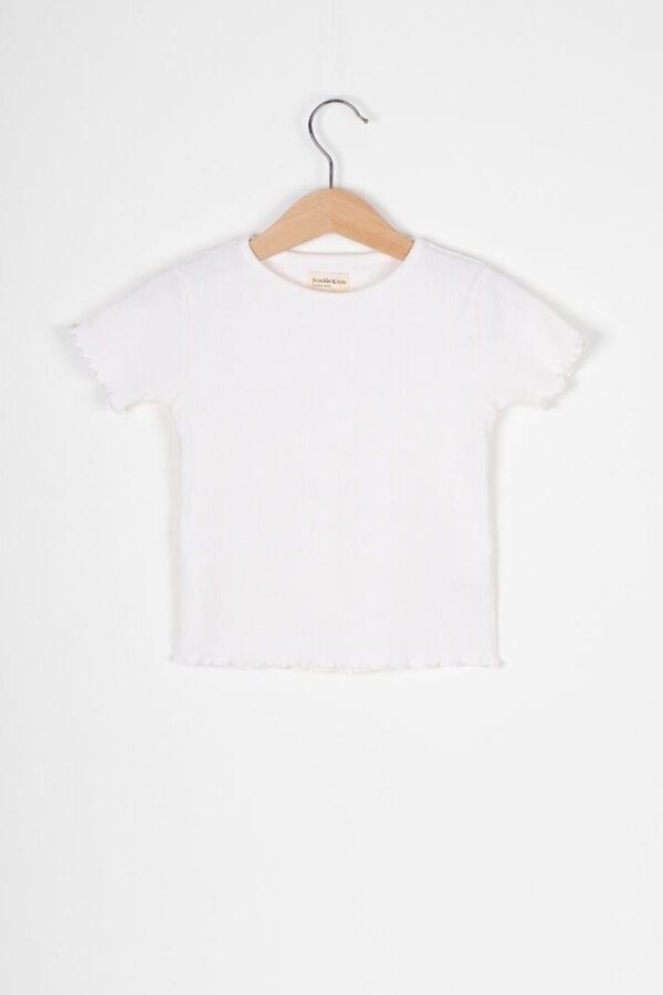 Produktfoto: T-Shirt mit Rollsaum für Kinder, Vorderseite