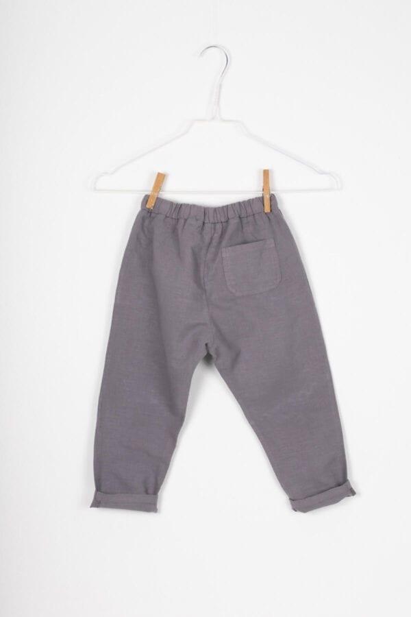 Produktfoto: Lässige Leinenhose für Kinder, Rückseite