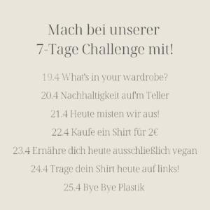 Sieben Tage Challenge