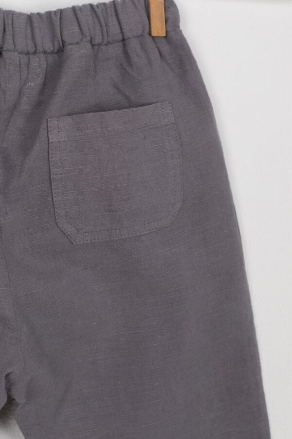 Produktbild: Lässige Leinenhose für Kinder, Detail