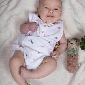 Tragebild: Body mit sommerlichem Eis-Print für Babys