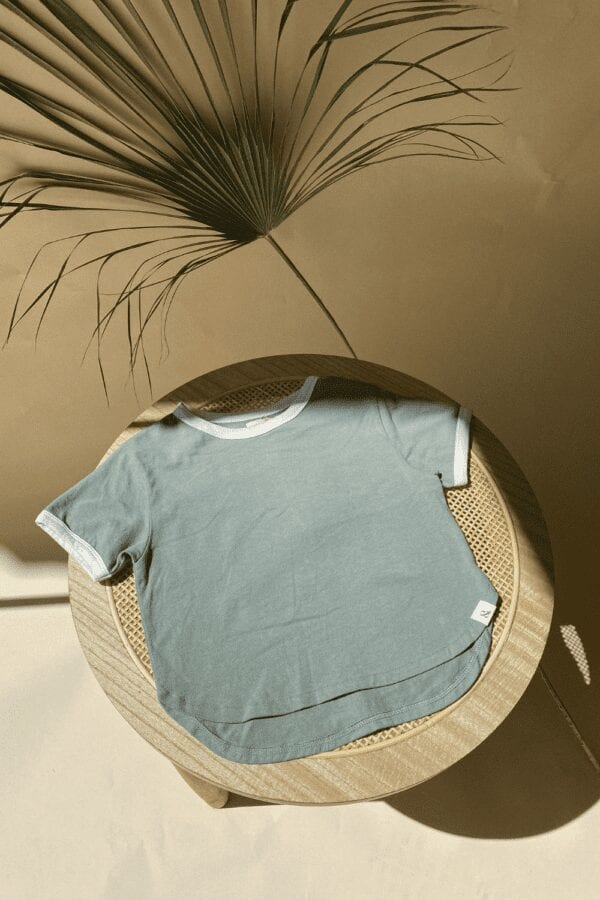 Retro Shirt in bough für Kinder