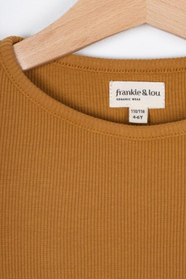 Produktfoto: T-Shirt mit Rollsaum für Kinder, Detail