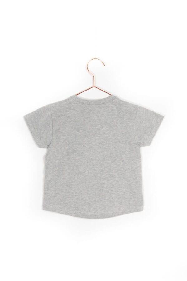 Produktfoto: T-Shirt mit aufgesetzter Brusttasche, Rückseite