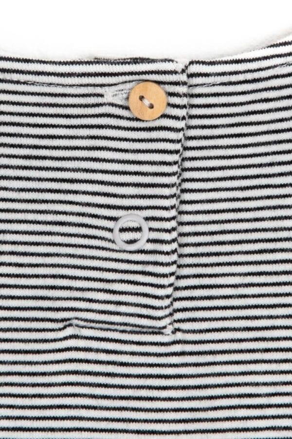 Produktfoto: Verspieltes Top mit Schößchen für Kinder, Detail