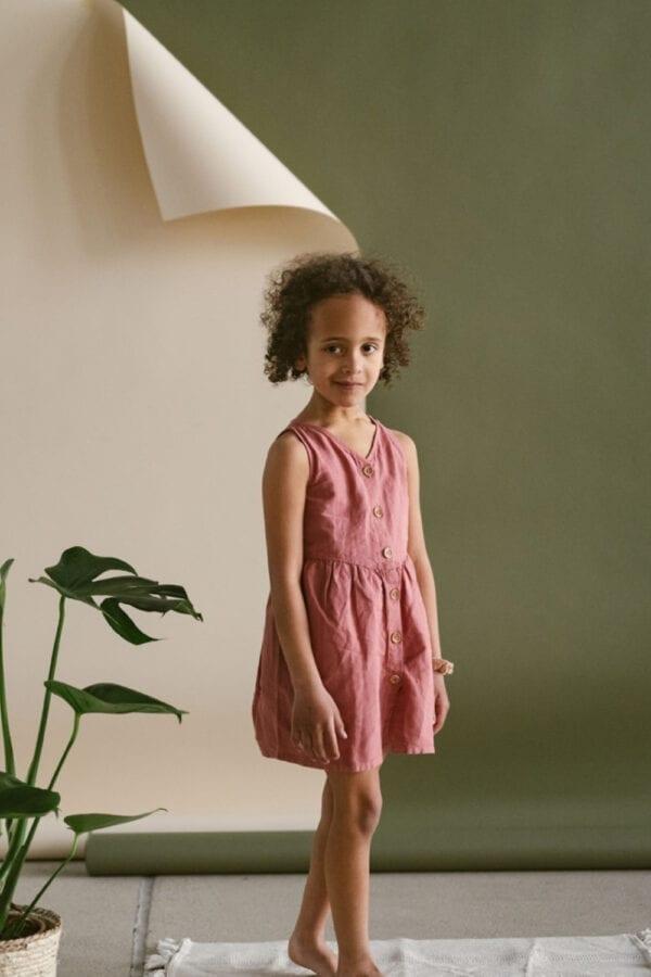 Leinenkleid für Kinder