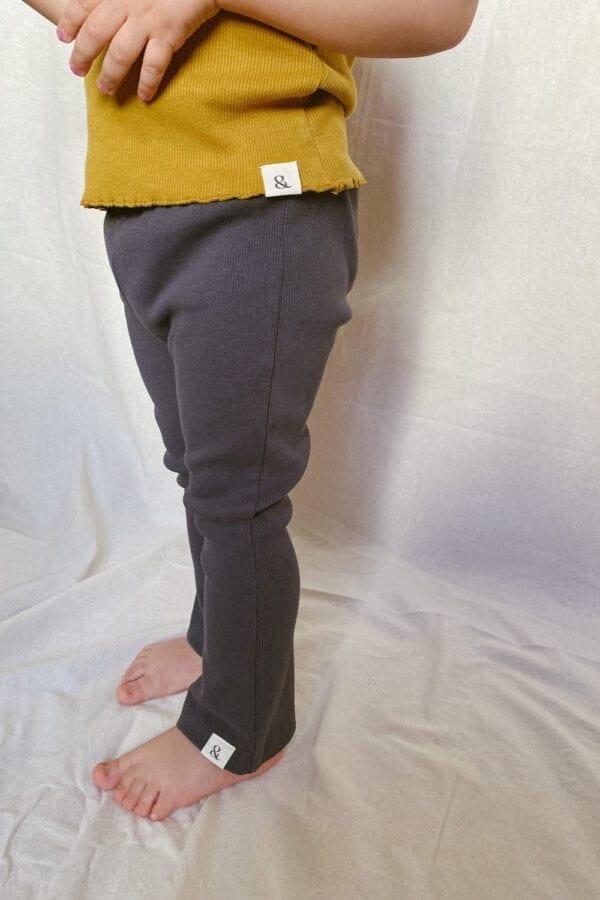 Rib Jersey Hosen für Kinder