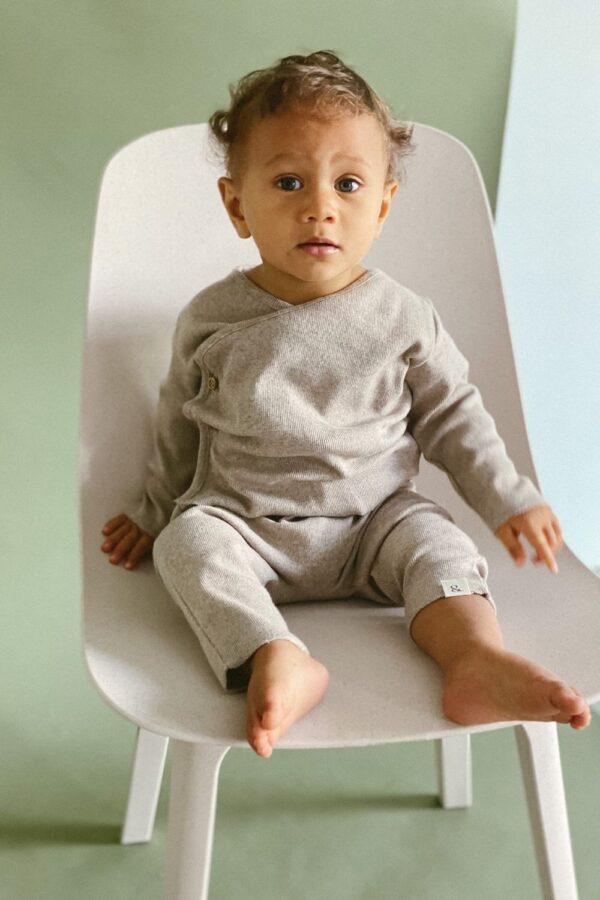 Baby Leggins stone melange