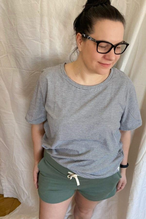 T-Shirt in gestreift für Frauen