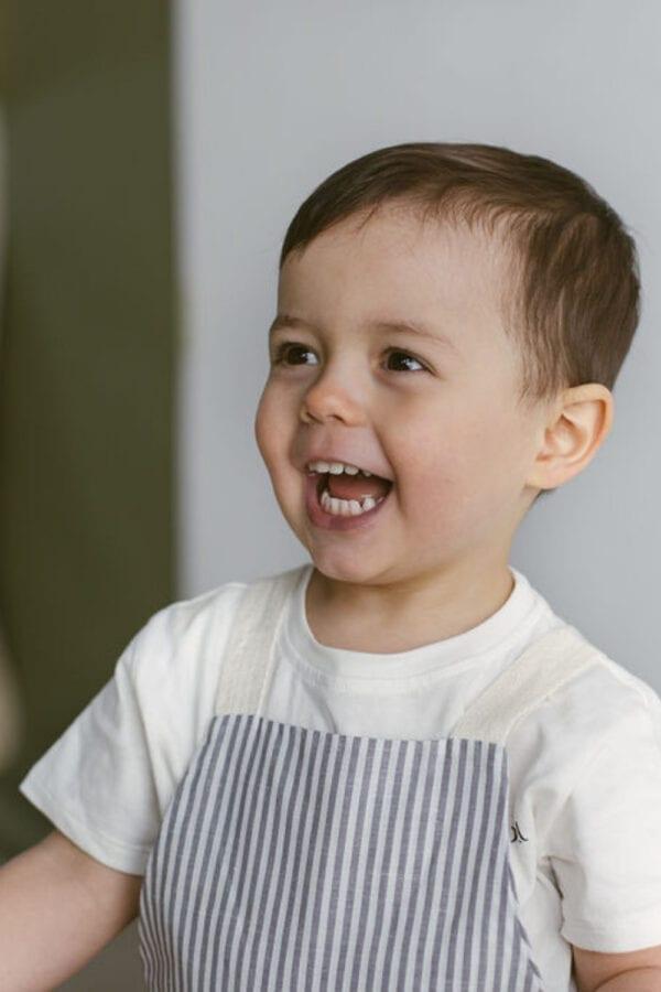 Leinen Latzhose für Kinder