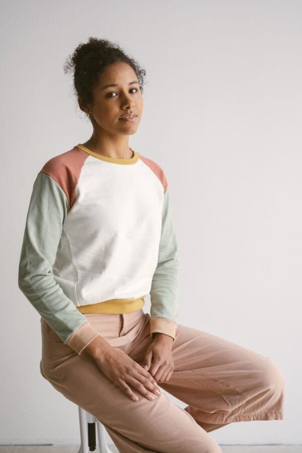 Patch Sweater für Frauen