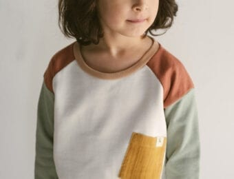 Patch Sweater für Kinder