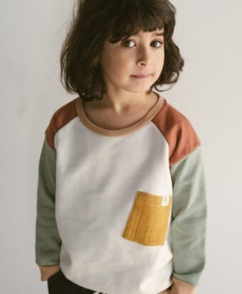 Patch Sweater für Kinder