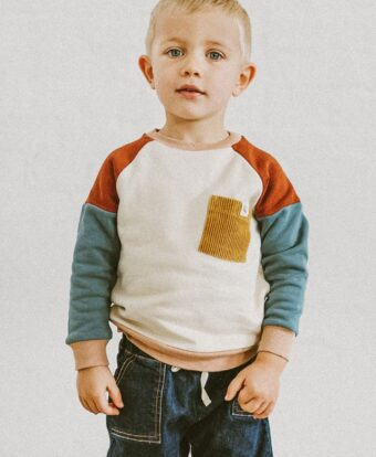 Patch Sweater Kinder