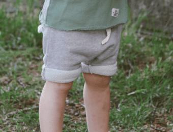 Shorts in hellgrau