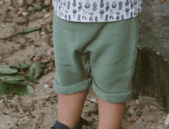 Shorts Wild im Herzen olive