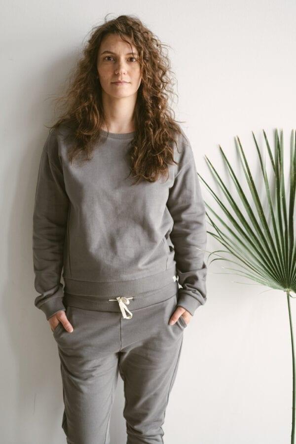 Sweater in der Farbe slate für Frauen