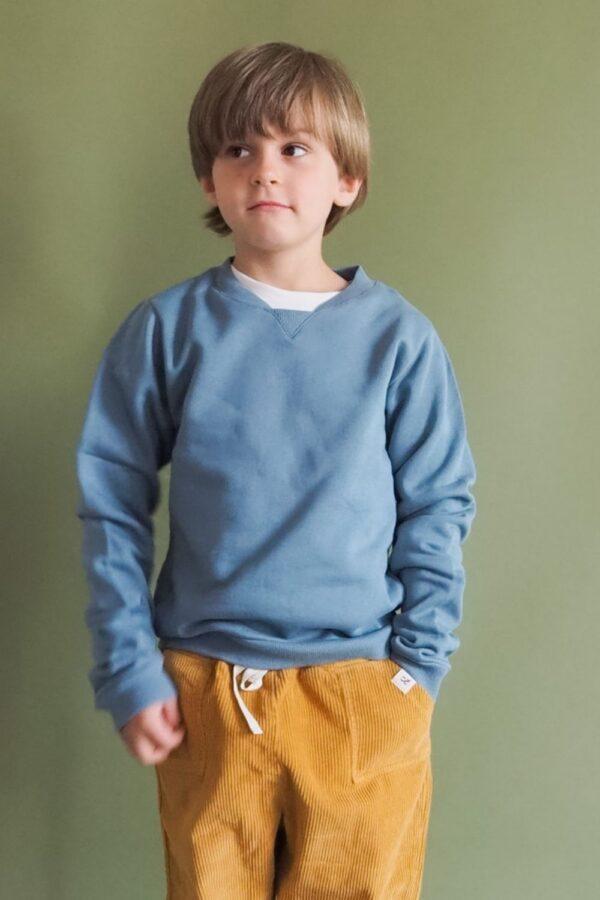 Sweater pigeon blue