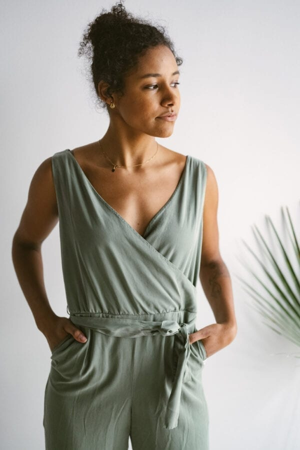 Tencel Jumpsuit in bough für Frauen