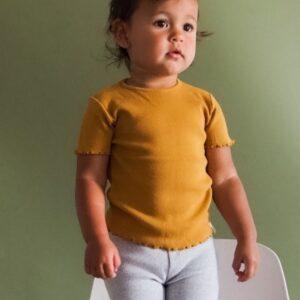 T-Shirt mustard