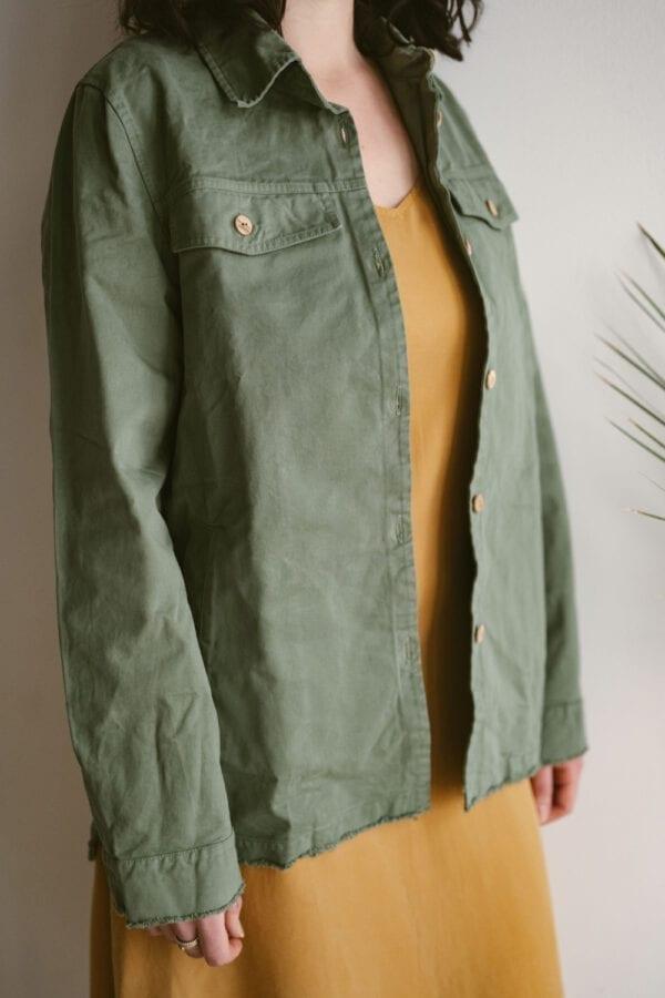 Twill Jacke für Frauen